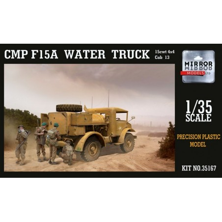 Mirror 1/35 CMP F15A Ford Water truck Cab 13, 4x4