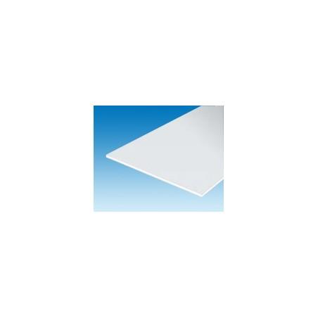 Evergreen plaque blanche lisse 15cm x 30cm x 0.25mm (4)