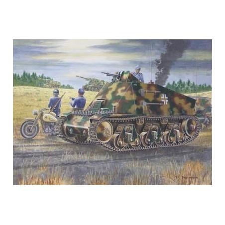 Trumpeter 1/35 PzKpfw 38(H) Funk- u. Befehlswagen