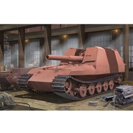 Trumpeter 1/35 Geschützwagen Tiger Grille21/210mm Morta
