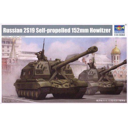 Trumpeter 1/35 Russian 2S19 Self-propelled 152mm Howitz
