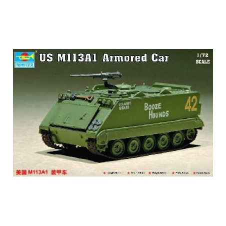 Trumpeter 1/72 US M 113 A1 Armored Car
