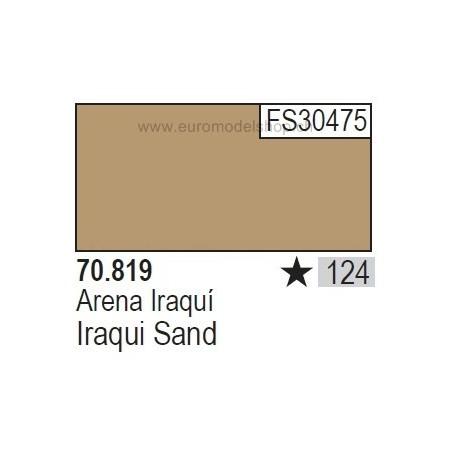Vallejo Model Color 124 Iraqui Sand, 17 ml (819)