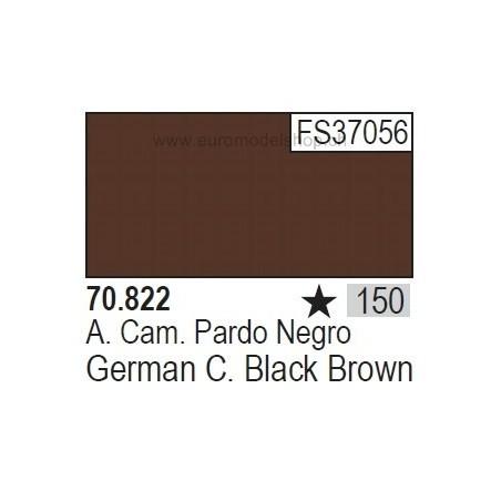 Vallejo Model Color 150 German Camo Black Brown, 17 ml (822)