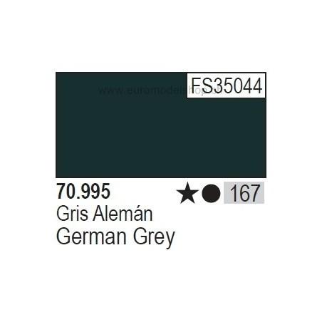 Vallejo Model Color 167 German Grey, 17 ml (995)