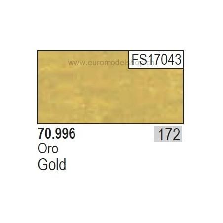 Vallejo Model Color 172 Gold, 17 ml (996)