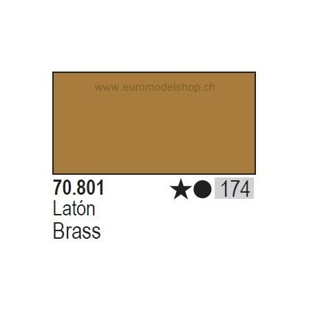 Vallejo Model Color 174 Brass, 17 ml (801)