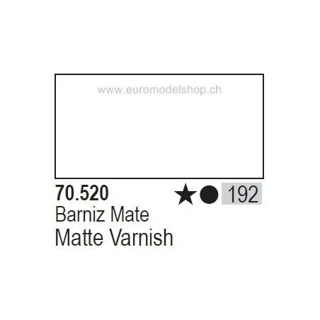 Vallejo Model Color 192 Matte Varnish, 17 ml (520)