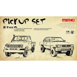 Meng 1/35 Pick Up set (2...