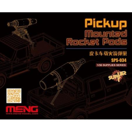 Meng 1/35 Pickup Mounted Rocket Pods (Resin)