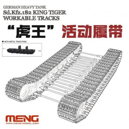 Meng 1/35 German Heavy Tank Sd.Kfz.182 King Tiger Workable Tracks
