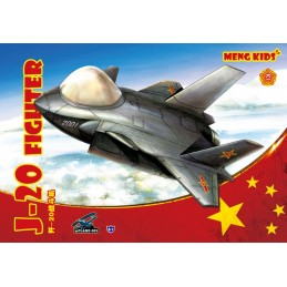 Meng Toons J-20 Fighter
