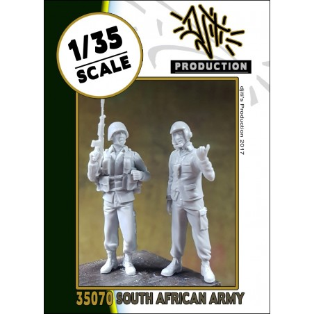 Djitis Production 1/35 South african army
