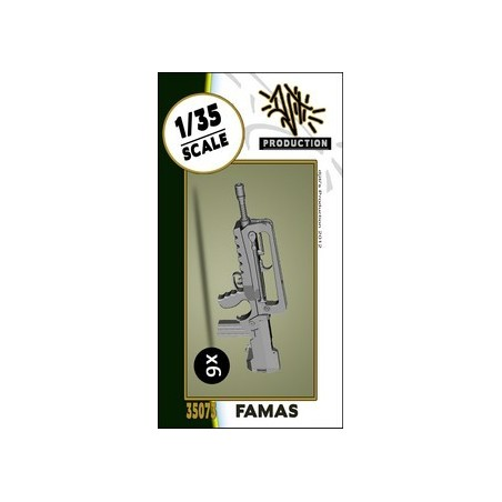 Djitis Production 1/35 Famas set 3D