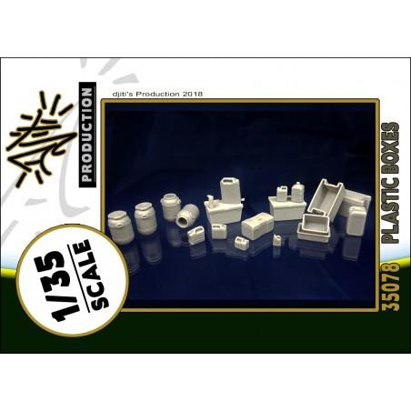Djitis Production 1/35 Plastic boxes