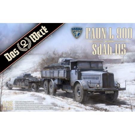 Das Werk 1/35 Faun L900 incl. Sd.Ah.115