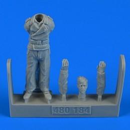 Aerobonus resin figure