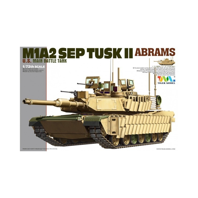 Tiger Plastic Model