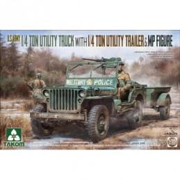 Takom 1/35 US Army Jeep +...