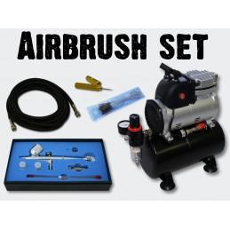 Airbrush komplett Set...