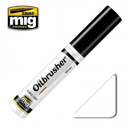 Ammo Oilbrusher - White 10ml