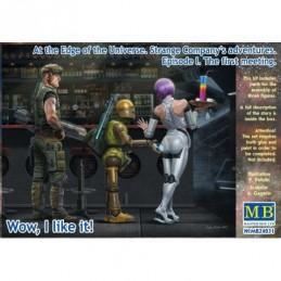 Masterbox plastic figures