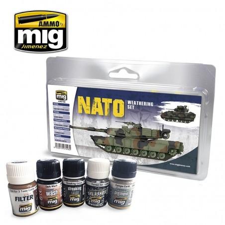 Ammo Mig - Nato Weathering Set