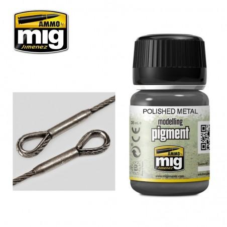 Ammo Mig - Polished Metal Pigment