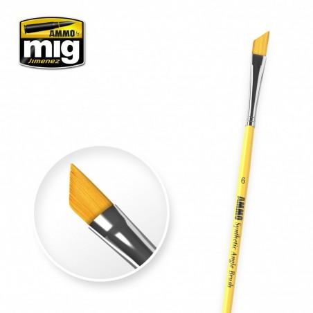 Ammo Mig - 6 Syntetic Angle Brush