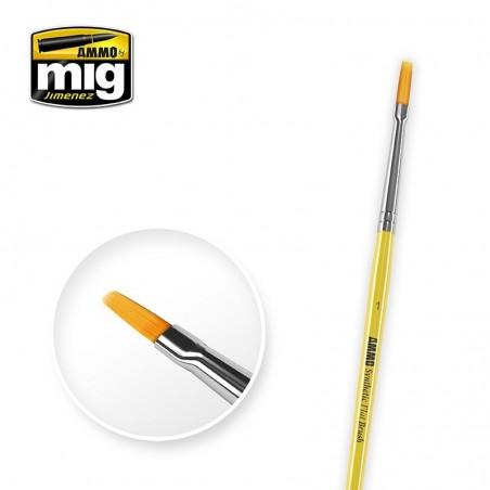 Ammo Mig - 1 Syntetic Flat Brush