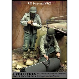 Evolution 1/35 US infantry WW2