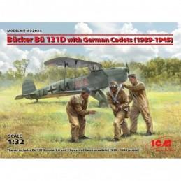 ICM 1/32 Bücker Bü 131D...