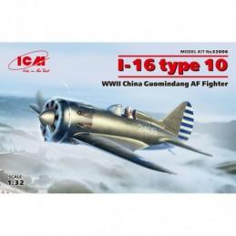 ICM 1/32 I-16 type 10, WWII...