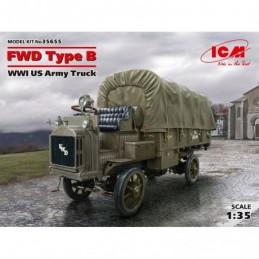 ICM 1/35 FWD Type B, WWI US...