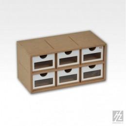 Hobbyzone - Drawers Module x 6