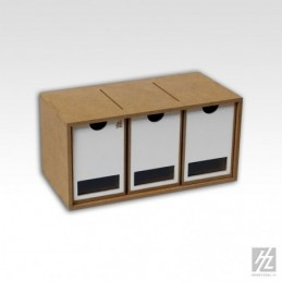 Hobbyzone - Drawers Module x 3